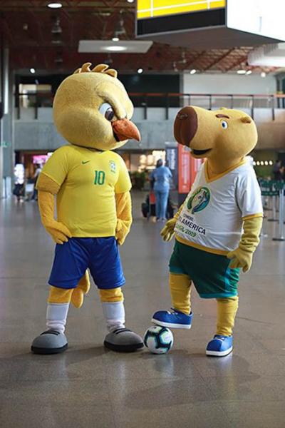 GOL Linhas Aereas, con la Copa América 2019