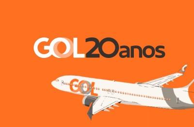 GOL Linhas Aéreas cumple 20 Años
