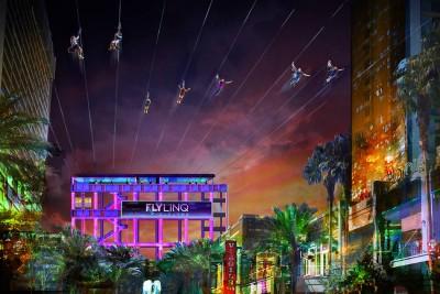 Caesars Entertainment presenta Fly LINQ, la primera tirolina en el Strip de Las Vegas